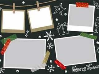 圣诞节照片框架