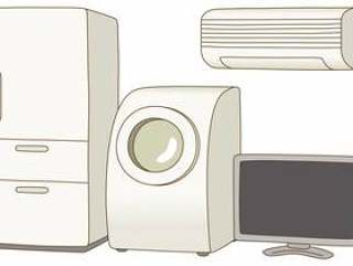 垃圾分类/ 4件家电