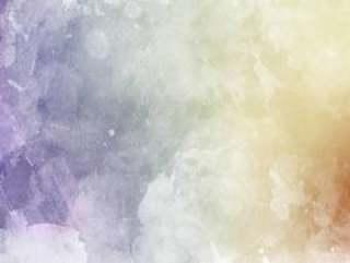 柔和的水彩纹理