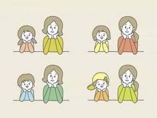 Hozue _父母和孩子