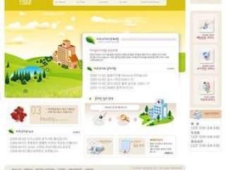 企业网站模板PSD分层(315)