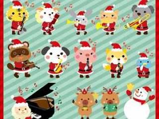 动物和乐队的圣诞节版本集合
