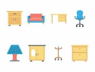 平面家具图标