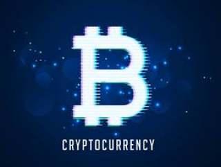 加密货币数字比特币符号技术背景