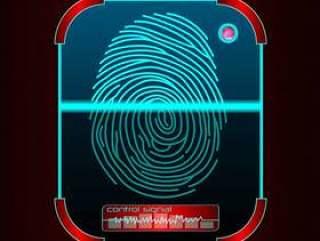 指纹扫描,识别系统图