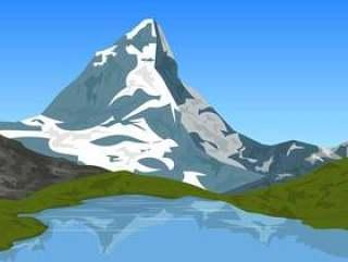 阿尔卑斯山马特宏峰