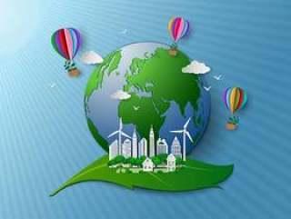 生态友好和环境保护的概念