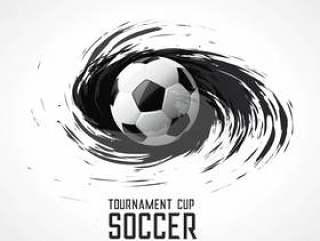 足球比赛抽象漩涡垃圾背景