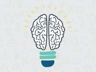 作为灯泡的大脑