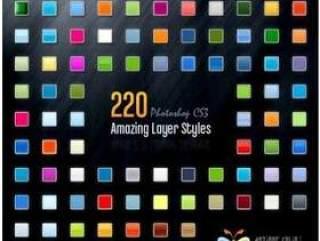 220款PS样式(含MACO系统样式文件)