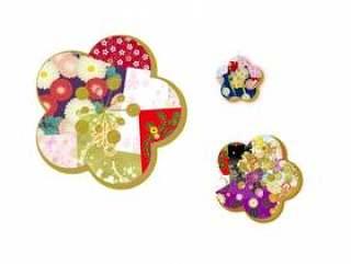 日本模式混合模式梅花