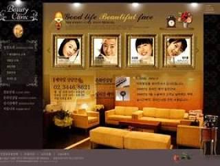 韩国家具网站模版psd分层素材