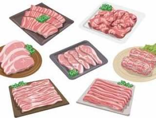没有猪肉流水线