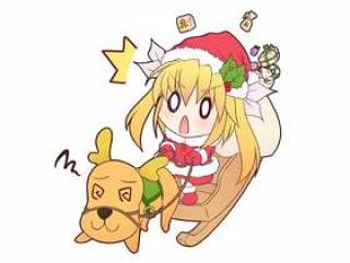 圣诞老人和驯鹿Re_C