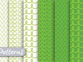 绿色排队的样式集合