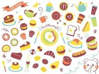 咖啡厅菜单各种01
