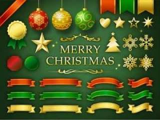 圣诞装饰品设置