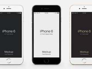 iPhone 6 Psd矢量模型
