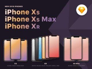 2018年iPhone X模型:iPhone XS,iPhone XS Max和iPhone XR,新2018年iPhone Xs