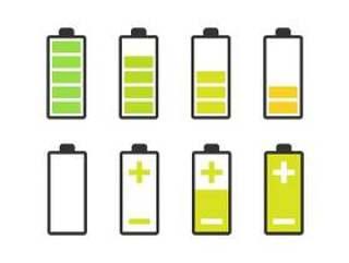 20 枚电池图标