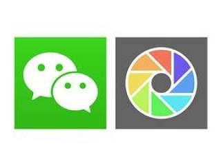 微信和朋友圈标志