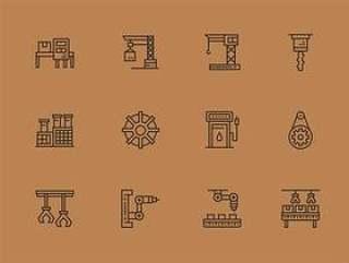 60 枚工业图标