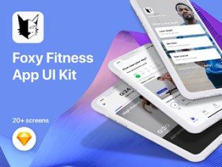 健康与健身,Foxy Fitness UI Kit
