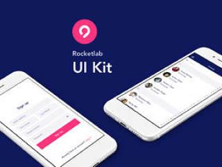 25 iOS屏幕UI工具包专为Sketch。,Rocketlab UI工具包而设计