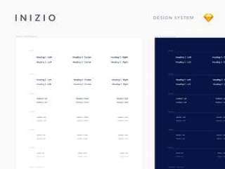 市场上最灵活和可扩展的设计系统.Inizio设计系统