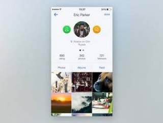 Photo App Profile