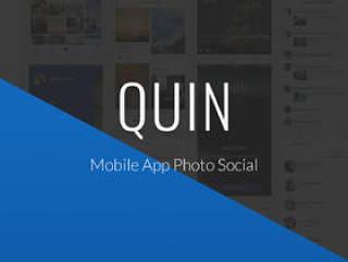 照片和社交移动应用程序UI工具包,QUIN UI工具包