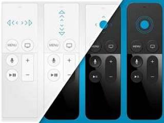 AppleTV 遥控器交互线框