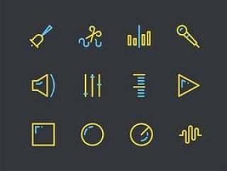 音频编辑图标