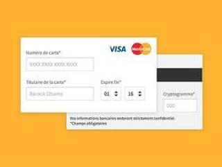 信用卡表单