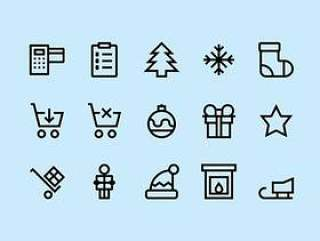 Christmas & Shopping Icons