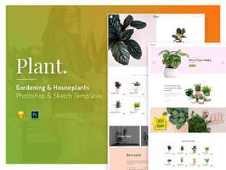 Plant是为Sketch和Photoshop,Plant制作的模板集合