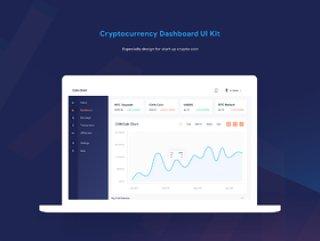 财务和加密仪表板Web应用程序UI工具包,加密货币仪表板UI工具包