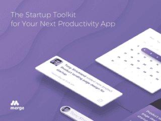 移动启动工具包,用于在Sketch中设计的下一个生产力应用程序,MERGE