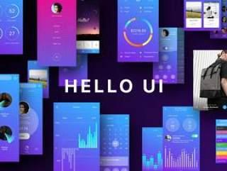 Hello UI Kit(含sketch源文件)UI工具包