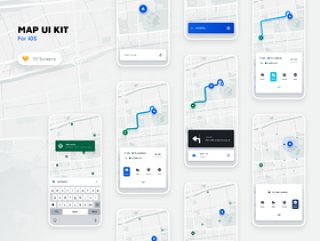 适用于iOS和Auto。的Map UI Kit,Map UI Kit