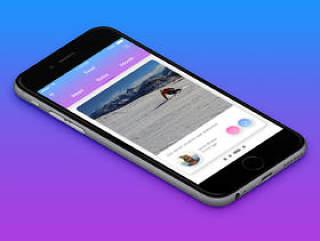 多彩的用户界面工具包,为您的移动项目,Kolorit移动UI工具包
