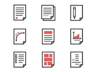 文档类型图标