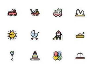 40 枚宝宝元素图标