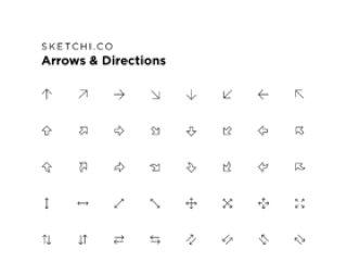 几乎任何你需要的箭头!,箭头和方向图标