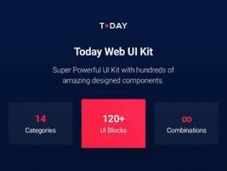 超强功能UI套件,包含数百种令人惊叹的设计组件。,今日Web UI套件