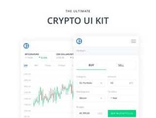 48个加密货币用于Adobe XD和Sketch的Web应用程序屏幕,Mobile Crypto Web UI Kit