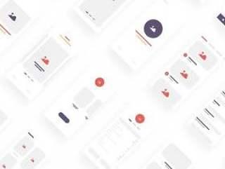 iBlocks iOS 线框图套件