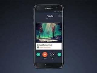 三星 Galaxy S7 Edge 模型