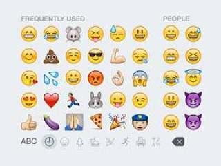iOS 8 Emoji Keyboard