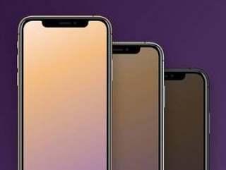 iPhone XS 和 Max 全色系模型